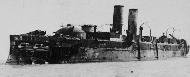 Vizcaya_wreck_Cuba_1899